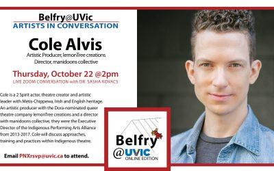 Belfry@UVic: Cole Alvis