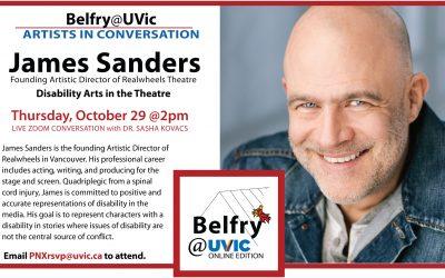 Belfry@UVic: James Sanders