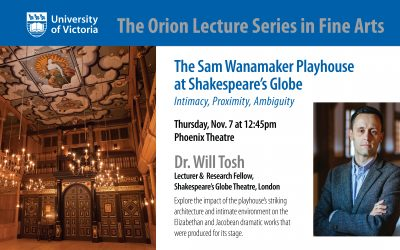 Orion Guest Speaker: Dr. Will Tosh