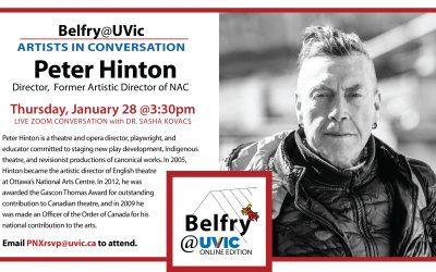 Belfry@UVic: Peter Hinton
