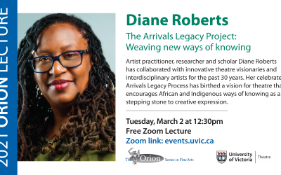 Orion Lecture Series: Diane Roberts